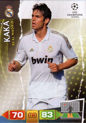 2011-12 - Panini Champions League Cards - N° 231 - KAKA (Real Madrid CF)