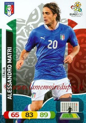 Panini Euro 2012 Cards Adrenalyn XL - N° 128 - Alessandro MATRI (Italie)