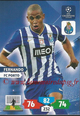 2013-14 - Adrenalyn XL champions League N° 222 - FERNANDO (FC Porto)