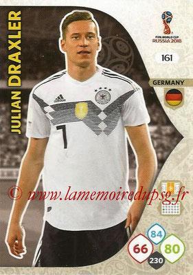 N° 161 - Julian DRAXLER (Janv 2017-??, PSG > 2018, Allemagne)
