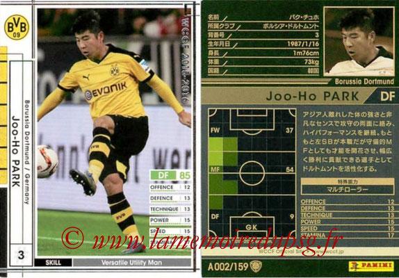 2015-16 - Panini WCCF - N° A002 - Park JOO-HO (Borussia Dortmund)