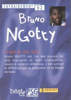 N° 062 - Bruno N'GOTTY (Verso)