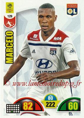 2018-19 - Panini Adrenalyn XL Ligue 1 - N° 129 - MARCELO (Lyon)
