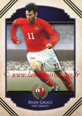 2014 - Futera World Football Unique - N° 107 - Ryan GIGGS (The Greats)