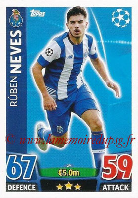2015-16 - Topps UEFA Champions League Match Attax - N° 029 - Ruben NEVES (FC Porto)