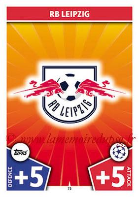 2017-18 - Topps UEFA Champions League Match Attax - N° 073 - Logo RB Leipzig (Club Badge)