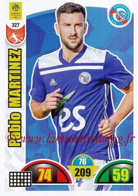 2018-19 - Panini Adrenalyn XL Ligue 1 - N° 327 - Pablo MARTINEZ (Strasbourg)