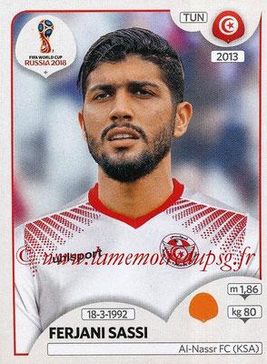 2018 - Panini FIFA World Cup Russia Stickers - N° 561 - Ferjani SASSI (Tunisie)