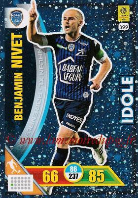 2017-18 - Panini Adrenalyn XL Ligue 1 - N° 399 - Benjamin NIVET (Troyes) (Idole)