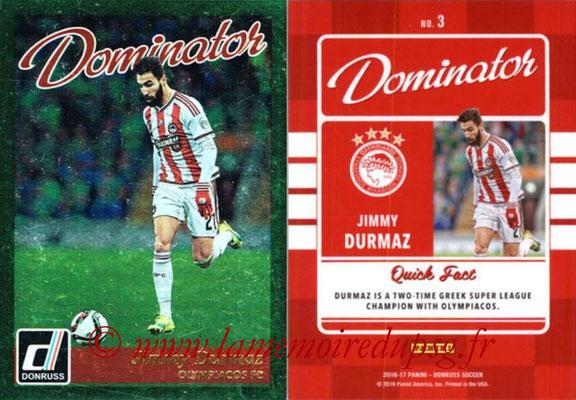2016 - Panini Donruss Cards - N° D03 - Jimmy DURMAZ (Olympiacos FC) (Dominator)