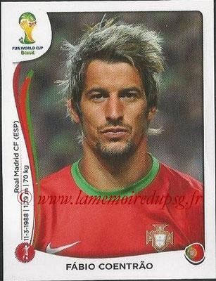 2014 - Panini FIFA World Cup Brazil Stickers - N° 513 - Fabio COENTRAO (Portugal)