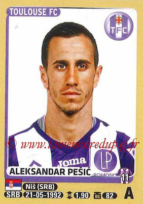 2015-16 - Panini Ligue 1 Stickers - N° 455 - Aleksandar PESIC (Toulouse FC)