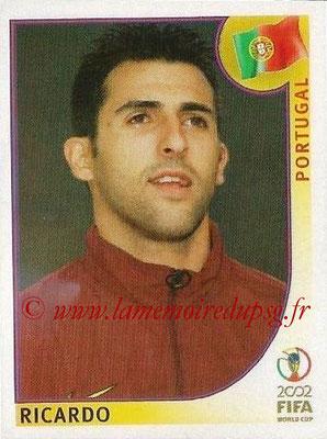 2002 - Panini FIFA World Cup Stickers - N° 297 - RICARDO (Portugal)