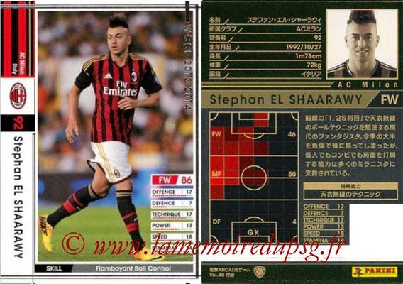 2013-14 - WCCF - N° EXT - Stephan EL SHAARAWY (Milan AC) (Extra)