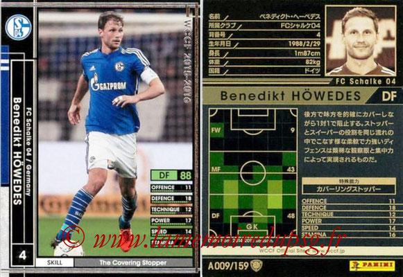 2015-16 - Panini WCCF - N° A009 - Benedikt HÖWEDES (FC Schalke 04)