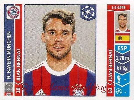 2014-15 - Panini Champions League N° 357 - Juan BERNAT (FC Bayern Munich)
