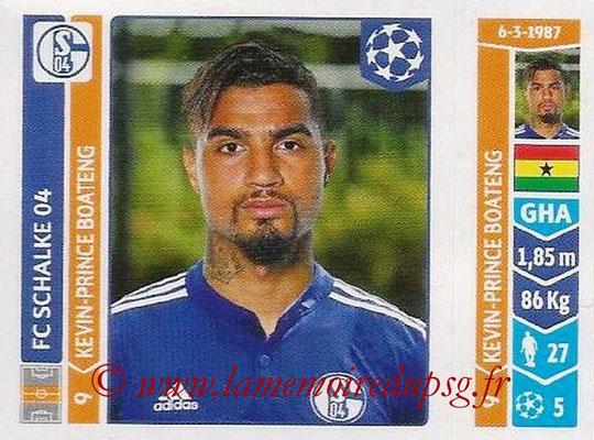 2014-15 - Panini Champions League N° 513 - Kevin-Prince BOATENG (FC Schalke 04)