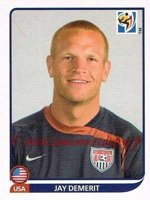2010 - Panini FIFA World Cup South Africa Stickers - N° 206 - Jay DEMERIT (États Unis)