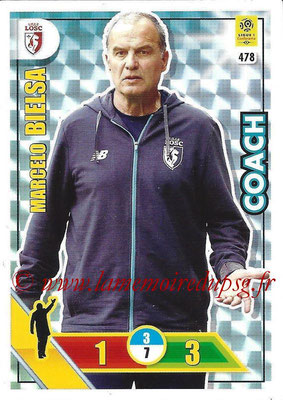 2017-18 - Panini Adrenalyn XL Ligue 1 - N° 478 - Marcelo BIELSA (Lille) (Coach)