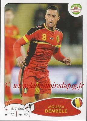 2014 - Panini Road to FIFA World Cup Brazil Stickers - N° 268 - Moussa DEMBELE (Belgique)