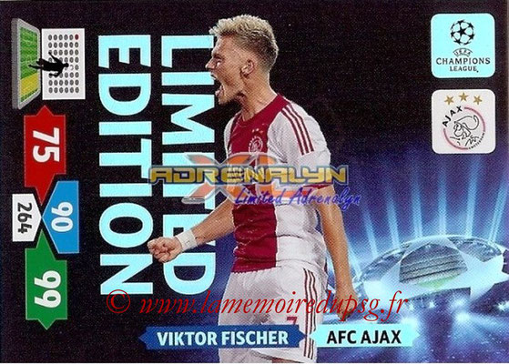 2013-14 - Adrenalyn XL champions League N° LE02 - Victor FISCHER (AFC Ajax) (Limited Edition)