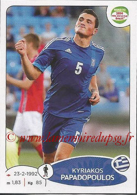 2014 - Panini Road to FIFA World Cup Brazil Stickers - N° 273 - Kyriakos PAPADOPOULOS (Grèce)