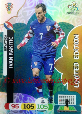 Panini Euro 2012 Cards Adrenalyn XL - N° LE28 - Ivan RAKITIC (Croatie) (Limited Edition)
