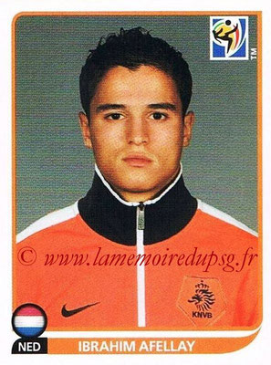 2010 - Panini FIFA World Cup South Africa Stickers - N° 347 - Ibrahim AFELLAY (Pays Bas)