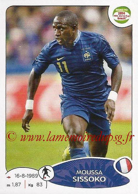 2014 - Panini Road to FIFA World Cup Brazil Stickers - N° 099 - Moussa SISSOKO (France)