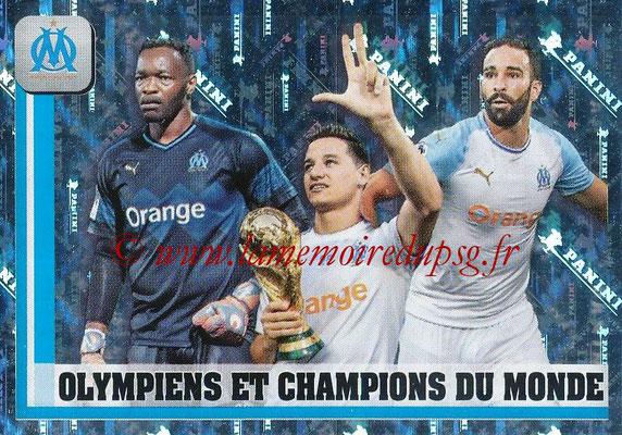2018-19 - Panini Ligue 1 Stickers - N° 225 - Olympiens et Champions du Monde (Marseille)