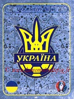 Panini Euro 2016 Stickers - N° 236 - Logo Ukraine