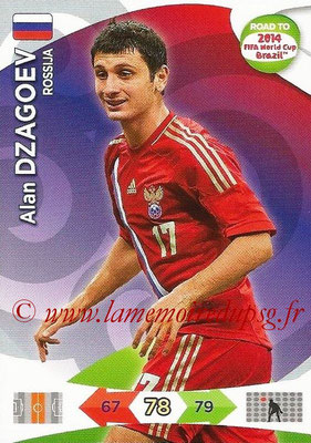 2014 - Panini Road to FIFA World Cup Brazil Adrenalyn XL - N° 163 - Alan DZAGOEV (Russie)