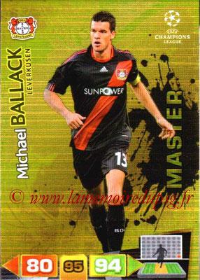 2011-12 - Panini Champions League Cards - N° 329 - Michael BALLACK (Bayer 04 Leverkusen) (Master)