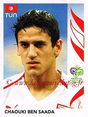 2006 - Panini FIFA World Cup Germany Stickers - N° 578 - Chaouki BEN SAADA (Tunisie)