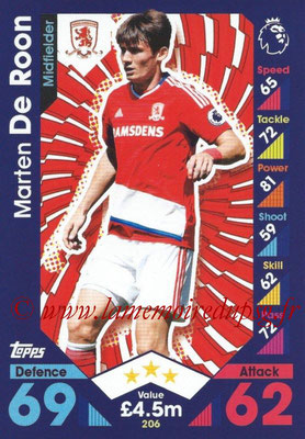 2016-17 - Topps Match Attax Premier League - N° 206