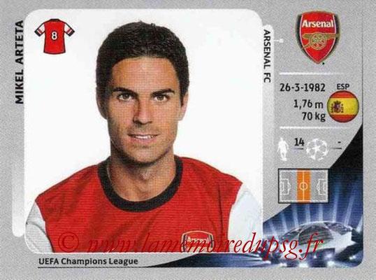 N° 093 - Mikel ARTETA (2000-02, PSG > 2012-13, Arsenal, ANG)