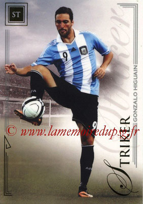 2014 - Futera World Football Unique - N° 073 - Gonzalo HIGUAIN (Striker)