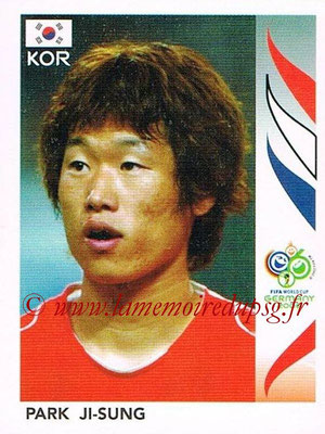 2006 - Panini FIFA World Cup Germany Stickers - N° 503 - Park JI-SUNG (Corée du Sud)