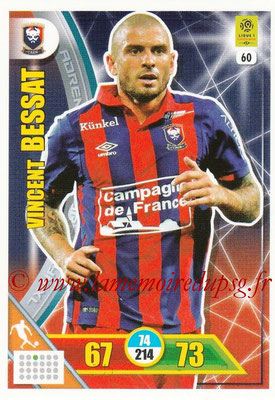 2017-18 - Panini Adrenalyn XL Ligue 1 - N° 060 - Vincent BESSAT (Caen)