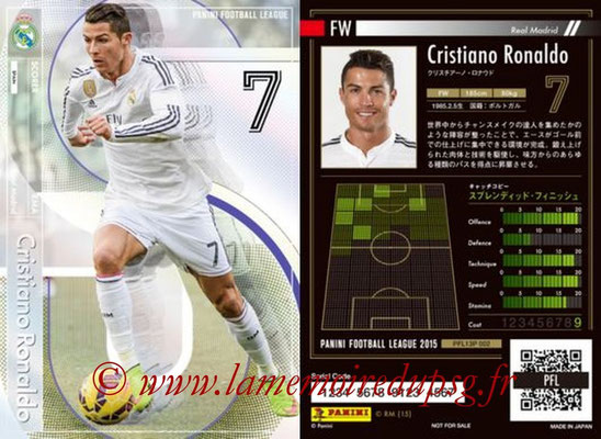 Panini Football League 2015 - PFL13P - N° 002 - Cristiano RONALDO (Real Madrid) (Scorer)