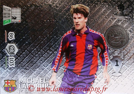 2012-13 - Adrenalyn XL champions League N° 351 - Michael LAUDRUP (FC Barcelone) (Legend)