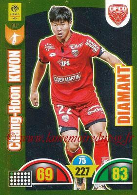 2018-19 - Panini Adrenalyn XL Ligue 1 - N° 407 - Kwon CHANG-HOON (Dijon) (Diamant)