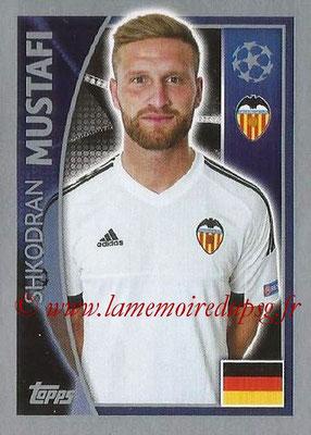 2015-16 - Topps UEFA Champions League Stickers - N° 555 - Shkodran MUSTAFI (FC Valence)