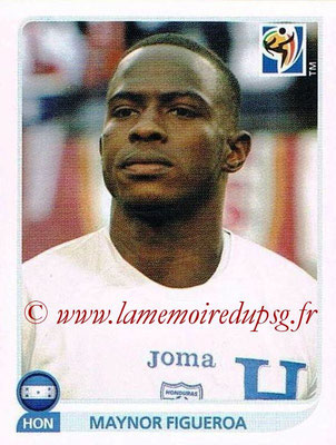 2010 - Panini FIFA World Cup South Africa Stickers - N° 603 - Maynor FIGUEROA (Honduras)
