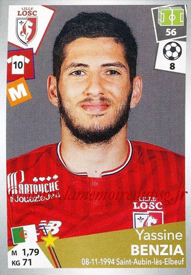 2017-18 - Panini Ligue 1 Stickers - N° 168 - Yassine BENZIA (Lille)