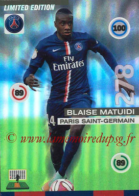 N° EL - Blaise MATUIDI (Edition limited)