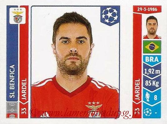 2014-15 - Panini Champions League N° 183 - JARDEL (SL Benfica)