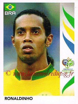 2006 - Panini FIFA World Cup Germany Stickers - N° 393 - RONALDINHO (Brésil)