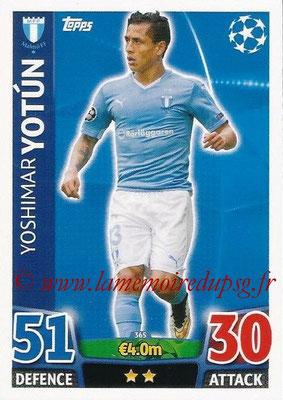 2015-16 - Topps UEFA Champions League Match Attax - N° 365 - Yoshimar YOTUN (Malmö FF)