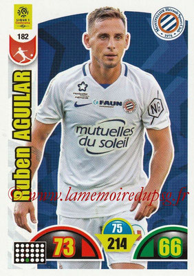 2018-19 - Panini Adrenalyn XL Ligue 1 - N° 182 - Ruben AGUILAR (Montpellier)